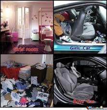 Car Girl Meme - girls room girls car vs boys room boys car by serkan meme center