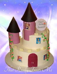 that really frosts me princess castle cake