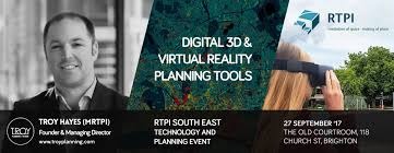 troy hayes speaking at rtpi south east technology and planning