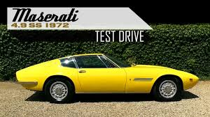 vintage maserati ghibli maserati ghibli 4 9 ss coupé 1972 full test drive in top gear
