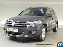 volkswagen suv 2014 used volkswagen tiguan grey for sale motors co uk