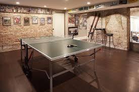 Floating Floor In Basement - basement ping pong table design ideas