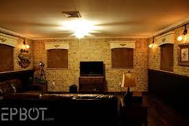 steampunk house interior epbot steampunk room progress diy cage light sconces