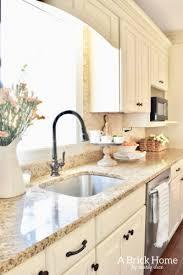 kitchen ideas photos fresh cheerful spring kitchen tour a brick home