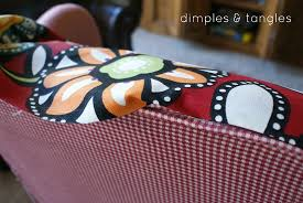 How To Reupholster A Side Chair How To Reupholster A Chair With A Glue Gun Way Back