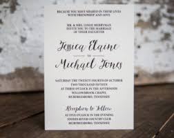 formal invitations formal invitation etsy