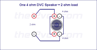 wiring subs vc in series and subs in parallel ecoustics com