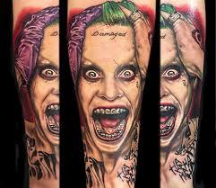 tattoo pictures joker brilliant joker tattoo more than just gotham s nemesis