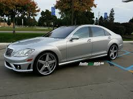 chrome benz 2008 mercedes benz s 65 amg on 22