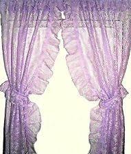 Cheap Long Length Curtains Priscilla Curtains Ebay