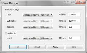 revit tutorial view range working with different revit view range in a floor plan cadnotes