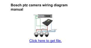 bosch ptz camera wiring diagram manual google docs