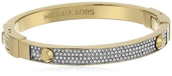 bracelet kors images Michael kors gold tone astor pave bangle bracelet jewelry jpg