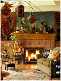 decorations vintage living room halloween decoration alongside