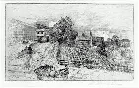 19th century u0027vegetable garden in shantytown new york u0027 u2014 city