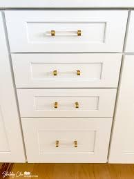 what hardware for shaker cabinets installing cabinet hardware tips tricks shabbychichouse