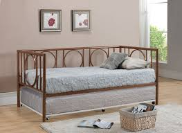 furniture metal daybed frame with pop up trundle daybed frame