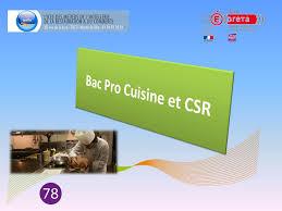 sujet bac pro cuisine bac pro cuisine et csr ppt télécharger