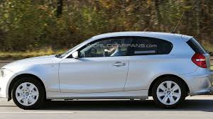 hybrid cars bmw bmw 1 series hybrid spied for first time