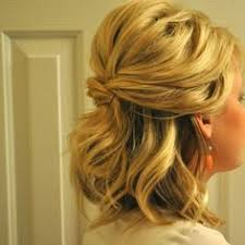 partial updos for medium length hair 25 gorgeous half up half down hairstyles medium length hairs