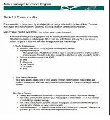 Another Word For Comfort Aurora Employee Assistance Program The Art Of Communication