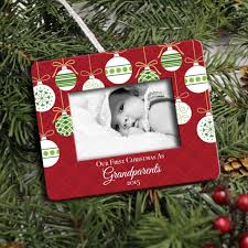 photo frame ornament personalized new grandparents