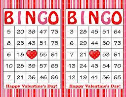 valentines bingo 60 valentines bingo cards printable bingo cards