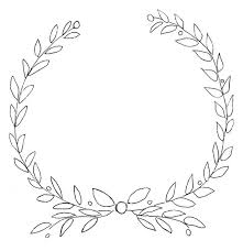 6 best images of printable wreath template christmas wreath