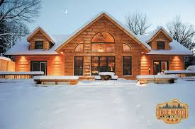 segwun 2 log home plan by true north log homes