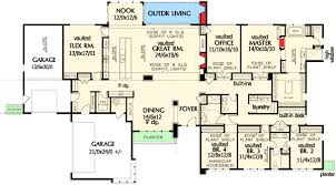 luxury ranch floor plans plan w69510am stunning contemporary ranch home plan e