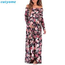 maternity dresses for weddings maternity dress shoulderless photography props floral maxi