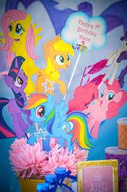 my pony centerpieces kara s party ideas my pony birthday party kara s party ideas