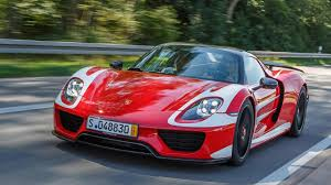 porsche 918 headlights mark webber takes delivery of porsche 918 spyder