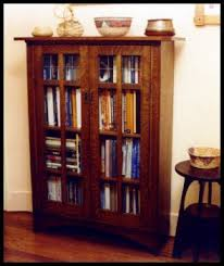 Arts And Craft Bookcase Heart Of Oak Workshop Authentic Craftsman U0026 Mission Style