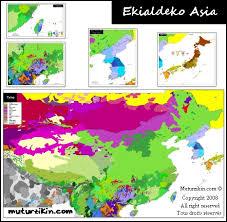 map asie asia cartes linguistiques linguistic maps
