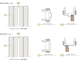 Standard Bifold Closet Door Sizes Bi Fold Door Timely Industries
