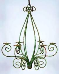 Wrought Iron Outdoor Chandelier Marrakesh Wrought Iron Pillar Candle Chandelier All Things