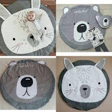 tapis ourson chambre b animaux de bande dessinée lapin ours jeu matelassé tapis bébé