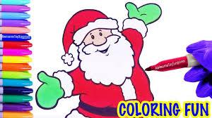 fun jingle bells christmas carol santa claus speed coloring