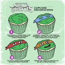 teenage mutant ninja turtles cupcakes fun with food pinterest