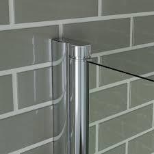 100 pivot bath shower screen aqualux aqua 4 shower pivot bath shower screen 800mm pivot bath screen easy clean frameless bathroom shower glass