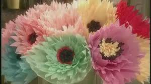 video how to make large crepe paper flowers martha stewart
