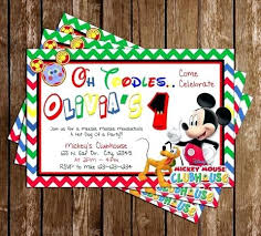 mickey mouse clubhouse party supplies mickey mouse clubhouse party invitations 1914 and mickey mouse