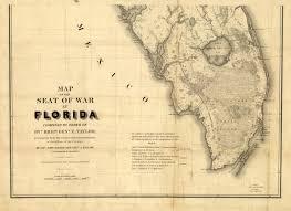Eustis Florida Map by Florida Memory Mackay U0026 Blake U0027s Florida Seat Of War 1839