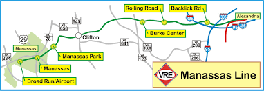Vre Map Virginia Railway Express Railfan Guide