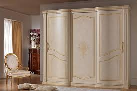 Wardrobes With Sliding Doors Wardrobe With 2 Sliding Doors In Luxury Classic Style Idfdesign