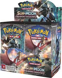 amazon pokemon sun u0026 moon english booster box 36 packs