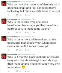 Makeup Artist Supply Victoria U0027s Secret Model Blasts Makeup Artist On Twitter Who Can U0027t