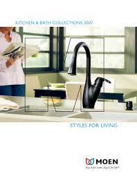 Moen Vestige Kitchen Faucet 2007 Kitchen And Bath Collections Moen Pdf Catalogues