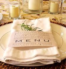 napkin folding for thanksgiving dinner printable napkin ring menu weddings thanksgiving dinner